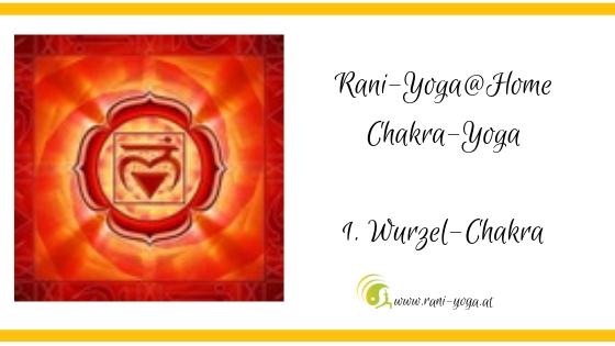 1 . Chakra Yoga – Mūlādhāra- oder Wurzelchakra