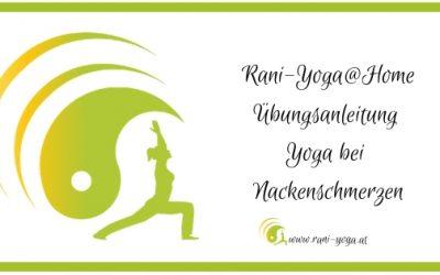 Yoga@Home – Yoga für den Nacken