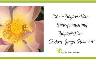 Yoga@home – Chakra-Yoga Flow (1)