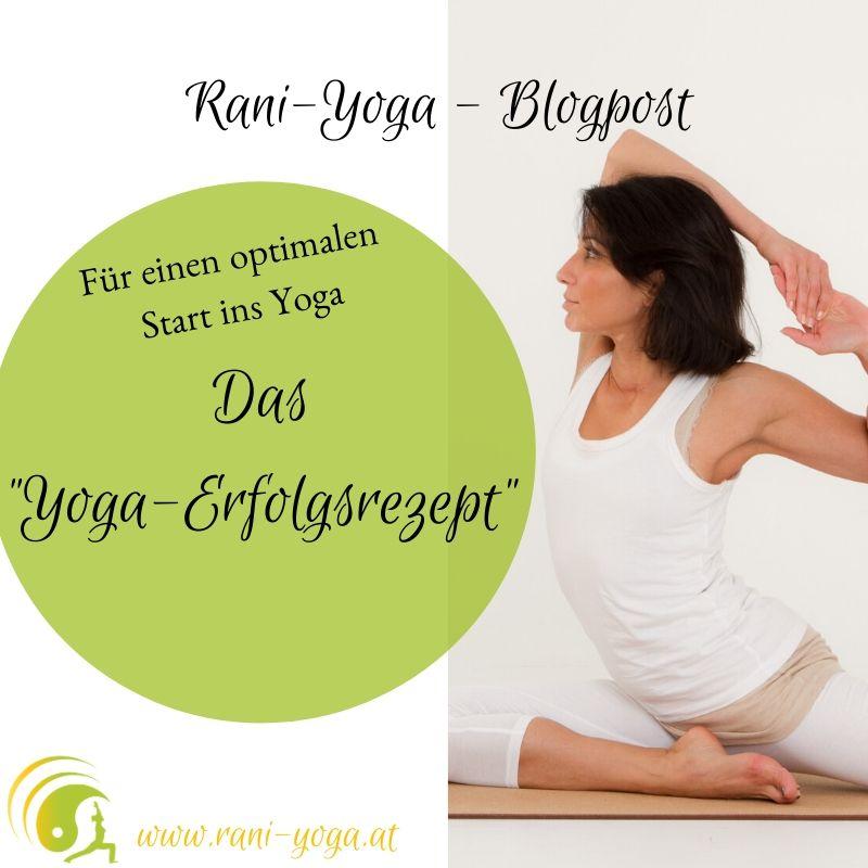 Yoga-Erfolgsrezept