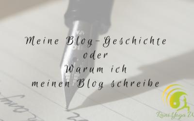 Meine Blog-Geschichte oder Warum ich meinen Blog schreibe