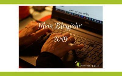 Mein Blogjahr 2019