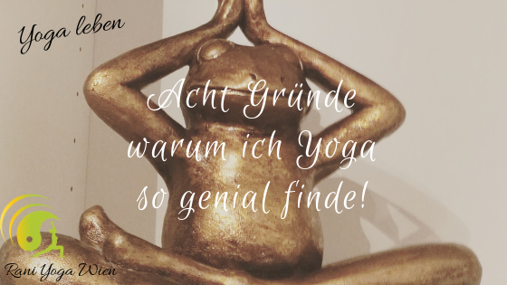 Acht Gründe warum ich Yoga so genial finde!