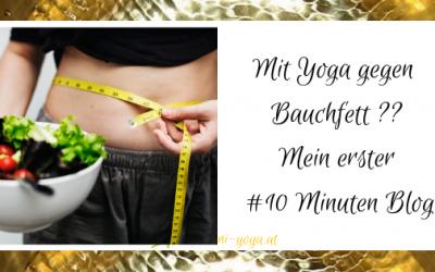 Ist das Yoga? Meine Gedanken zum Standard Artikel: Mit Yoga gegen Bauchfett #10MinutenBlog