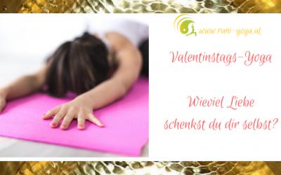 Yoga zum Valentinstags – Wieviel Liebe schenkst du dir selbst?