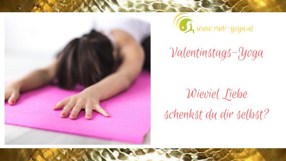 Yoga zum Valentinstags – Schenk dir Liebe!