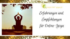 Erfahrungen und Empfehlungen für Online-Yoga