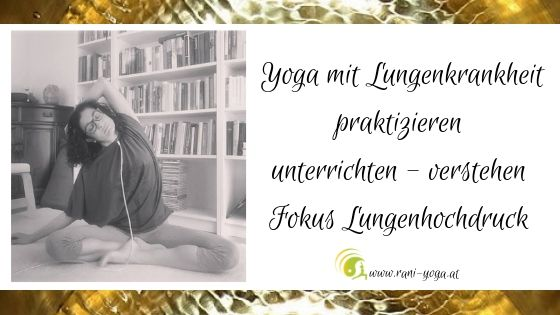 Yoga mit Lungenhochdruck – unterrichten und verstehen