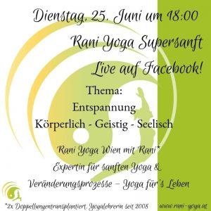 Rani Yoga Supersanft Entspannung und Sitali