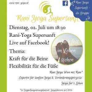 Rani Yoga Wien - Rani Supersanft Facebook lives