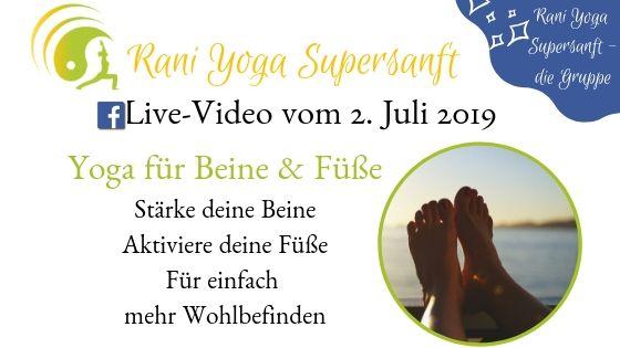 Rani-Yoga Supersanft – Video #7 – Stand-fest gegen die Angst