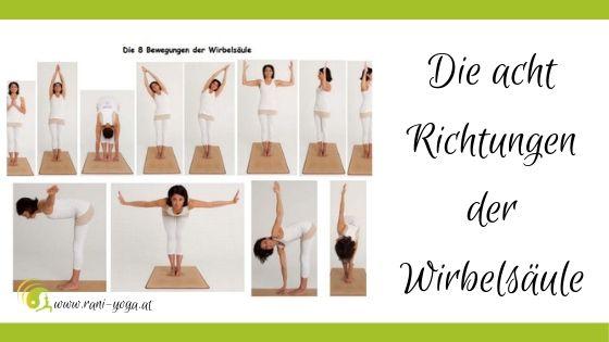 Die acht Richtungen der Wirbelsäule, Rani Yoga Wien