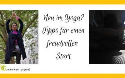 Neu im Yoga! Worauf muss ich achten?