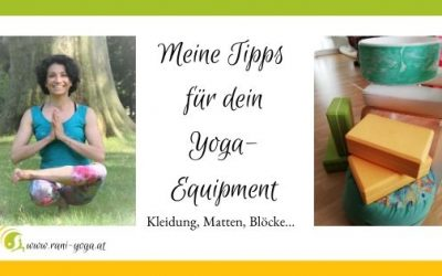 Meine Tipps für dein Yoga-Equipment