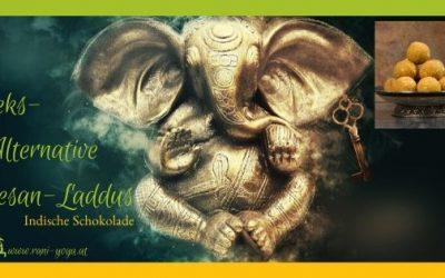 Ayurvedische Keksalternative: Besan Laddu