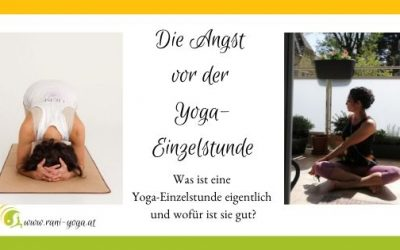 Die Angst vor der Yoga-Einzelstunde