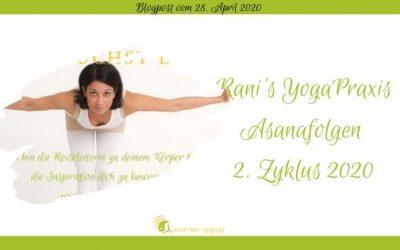 Rani-Yoga Übungsfolgen – Zyklus 2/2020