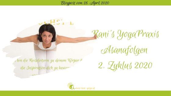 Rani Yoga Asanafolgen 2 2020