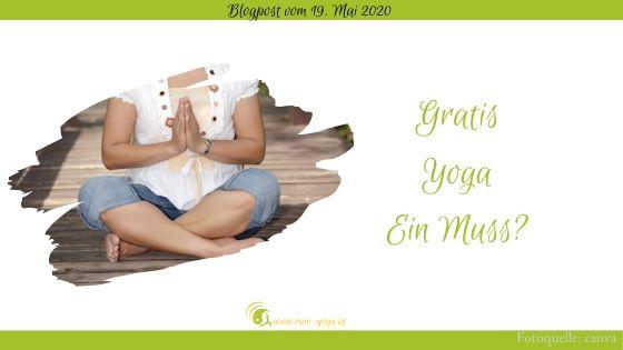Gedanken zum Gratis-Yoga