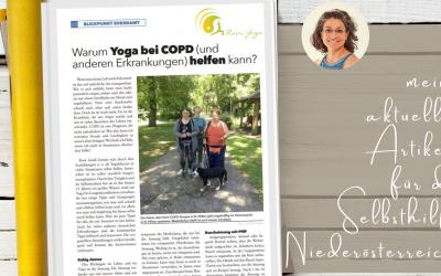 Warum Yoga bei COPD und anderen Lungenkrankheiten helfen kann