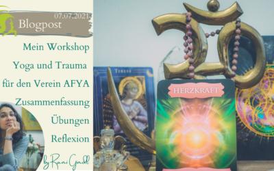 Yoga & Trauma – Meine Erfahrung im AFYA-Workshop