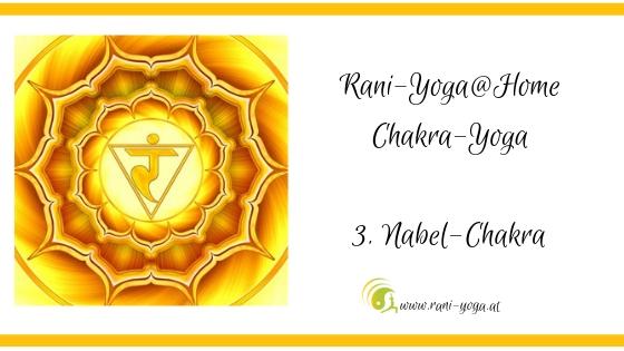 3. Chakra Yoga – Manipūra- oder Solarplexuschakra