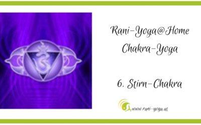 6. Chakra-Yoga – Ājñā- oder Stirnchakra