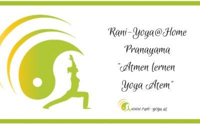 Atmen lernen – Yoga Atem