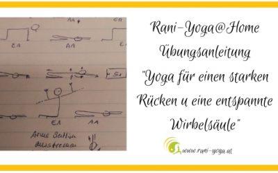 Yoga@home – Starker Rücken, entspannte Wirbelsäule