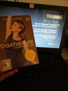 Yogatherapie DVD mit Ursula Karven