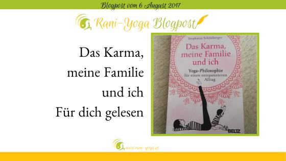 Buchkritik – Das Karma meine Familie und ich